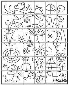 Joan Miro Mural · Art Projects for Kids