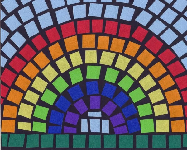 Paper Mosaic Art Projects