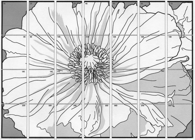 Georgia okeeffe flowers coloring pages