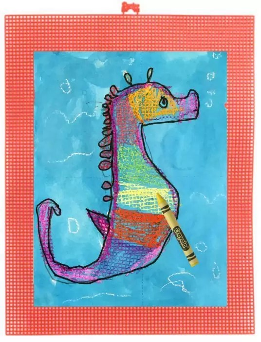 Seahorse Art Projects For Kids