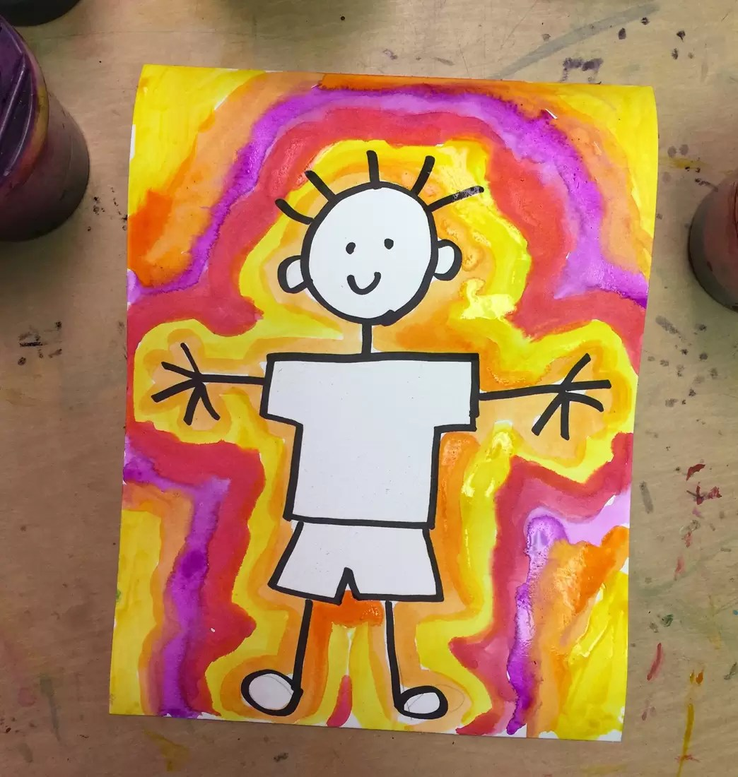 Stick Drawing Painting Art Projects For Kids