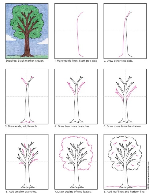 small resolution of how to draw a tree