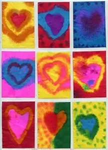 Filter Watercolor Hearts