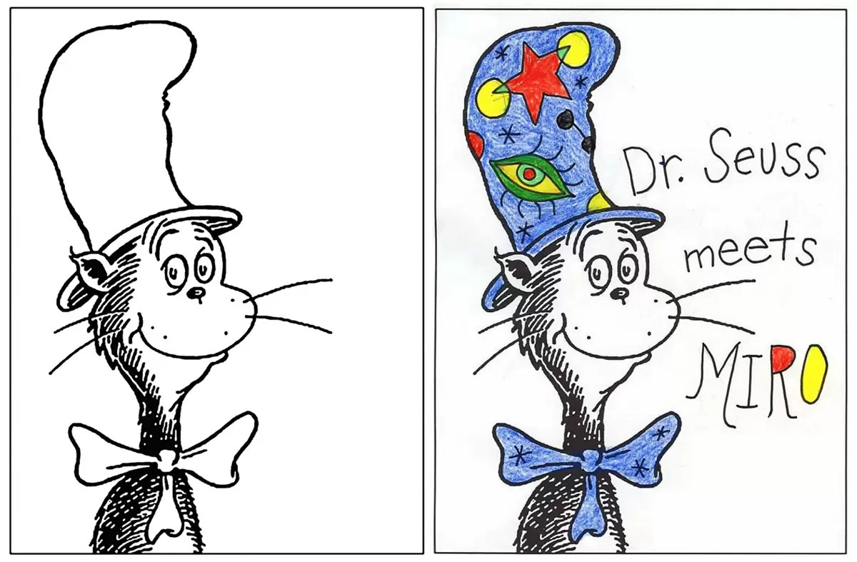 Cat In The Hat Template Art Projects For Kids