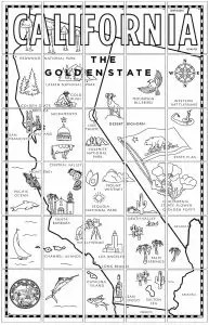 California Map Mural · Art Projects for Kids