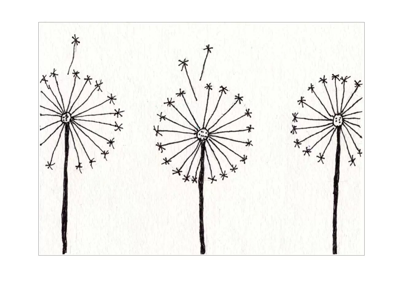 Dandelion Painting · Art Projects for Kids