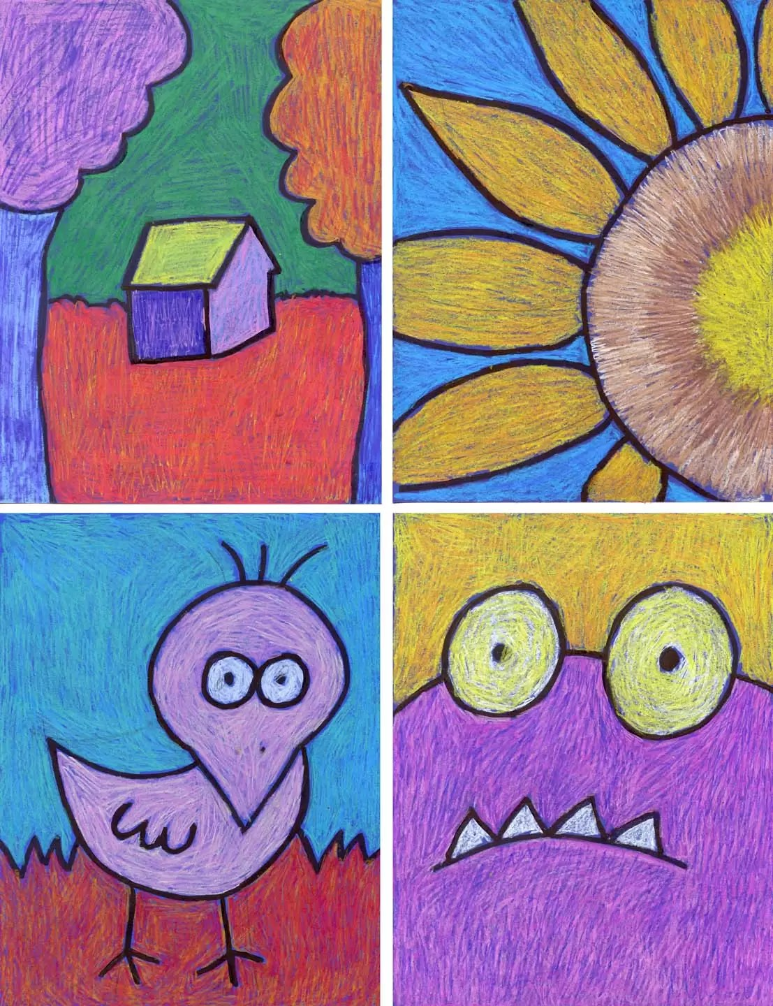 Simple Drawing Project Art Projects For Kids