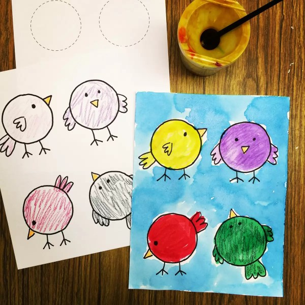 Painting Art Projects Pre-K