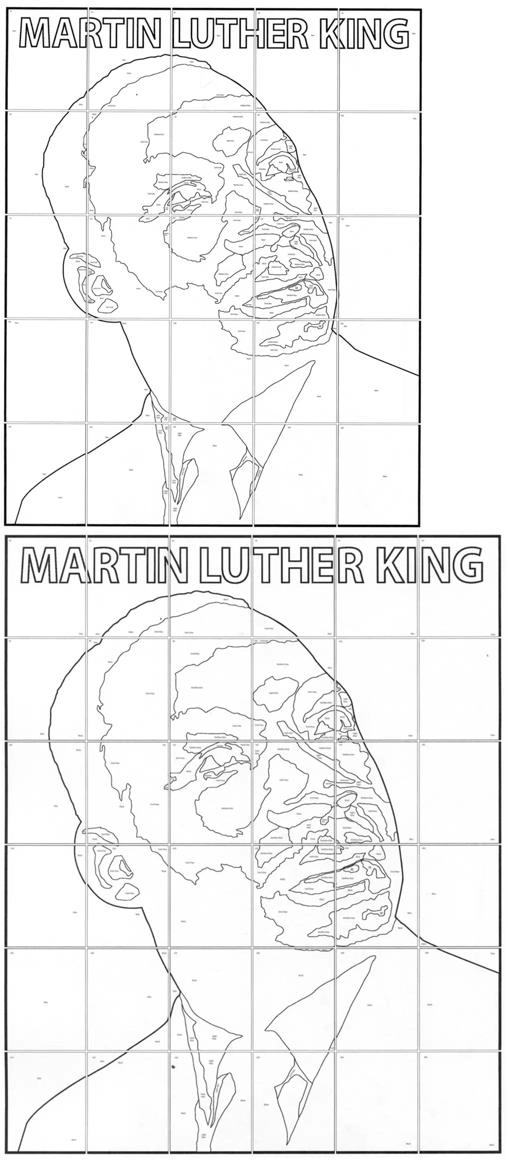 Martin Luther King Mural · Art Projects for Kids