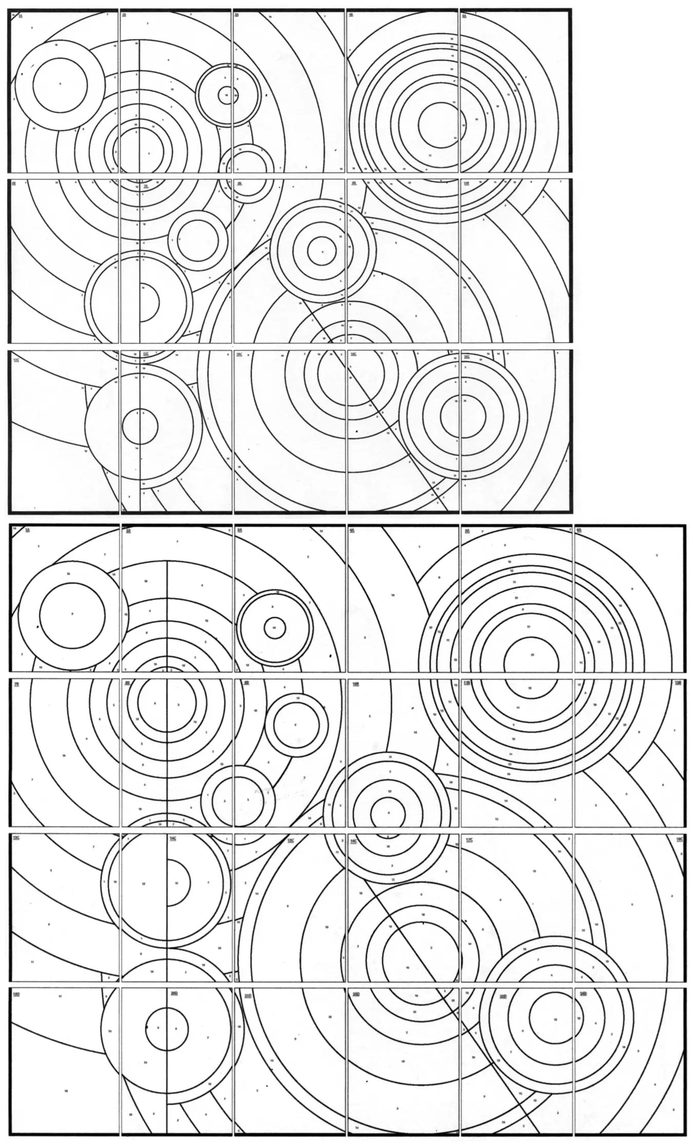 Delaunay Mural Art Projects For Kids