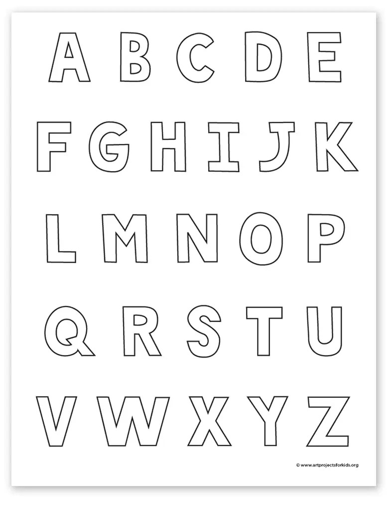 How To Draw Box Letters : letters, Letters, Projects
