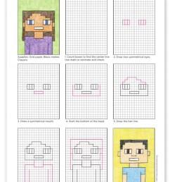 How to Draw a Minecraft Selfie · Art Projects for Kids [ 1024 x 807 Pixel ]