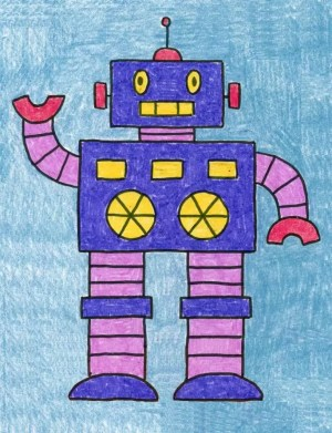 robot draw shapes simple learning projects those fashioned way