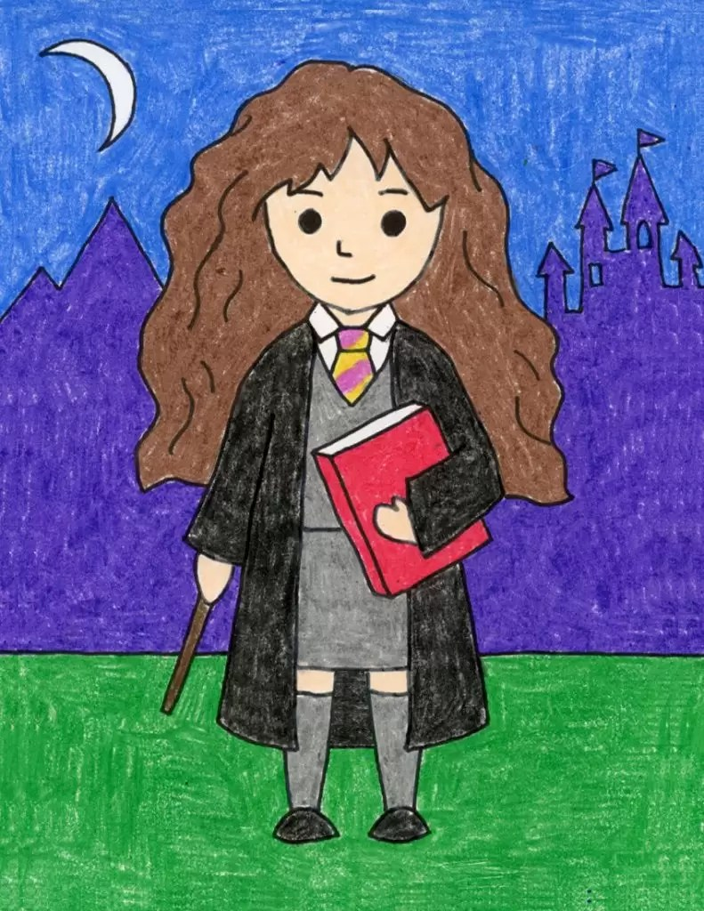 How To Draw Hogwarts Castle : hogwarts, castle, Hermione, Projects