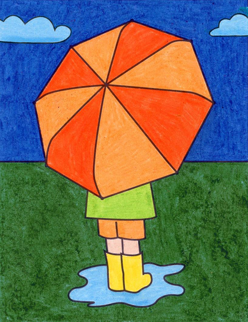 How To Draw An Umbrella Easy : umbrella, Umbrella, Projects, Bloglovin'