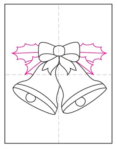 How To Draw Christmas Bell : christmas, Christmas, Bells, Projects