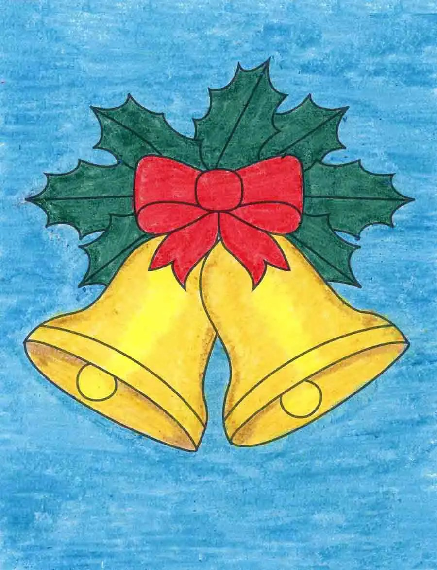 Bells Drawing : bells, drawing, Christmas, Bells, Projects