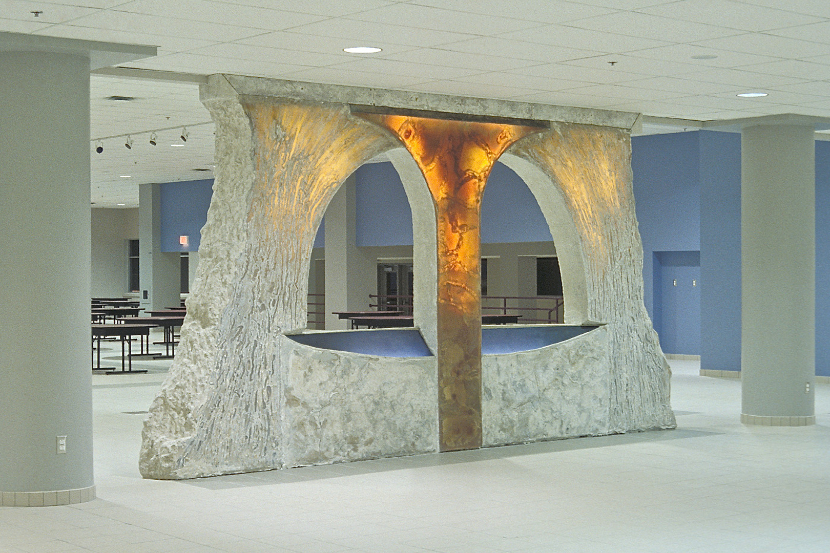 anamorphose de pierre art public montreal