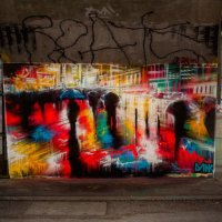 Street Art by Dank in Vienna