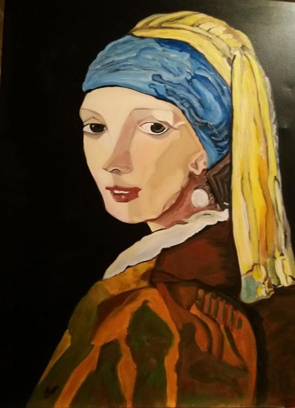 Vermeer La Jeune Fille à La Perle : vermeer, jeune, fille, perle, Paintings,, Jeune, Fille, Perle, Vermeer,, 1466,, Independent, Artists
