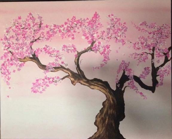 paintings cerisier japonais page 4296