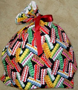 Ribbon Candy Gift Bag