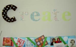 CREATE!!!! Wall