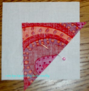 Pin Triangle to background
