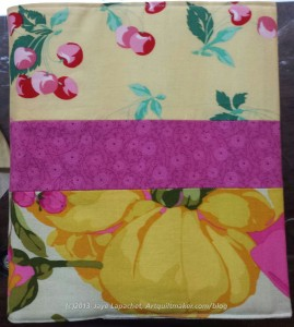 Yellow & Pink Journal Cover