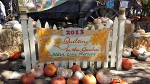 Quilting in the Garden 2013