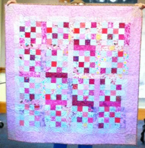 Pink Donation Quilt