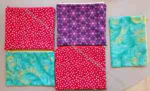 The pouches I made