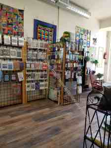 Cat's Quilting Studio notions an patterns