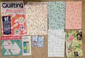 Cat's Quilting Studio and Joann supplies