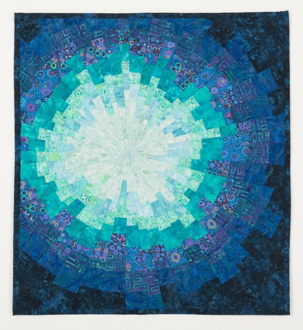 Circles And Curves - Art Quilts Sharon
