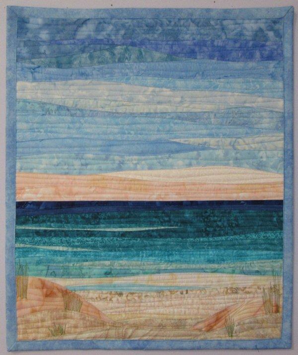 Landscapes Quilts Art Sharon