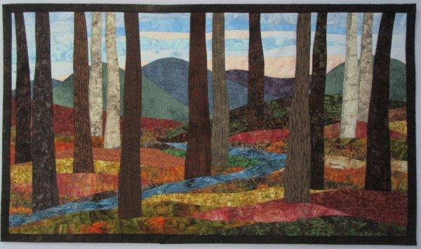 Landscapes Quilts - Art Sharon