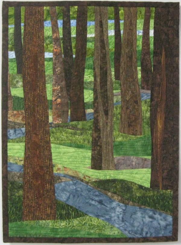 landscapes quilts - art