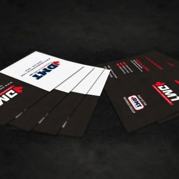 DMT Business Group - Business Card Design - Lethbridge Alberta