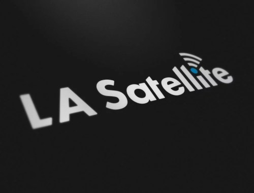 LA Satellite - Logo Design - Lethbridge Alberta