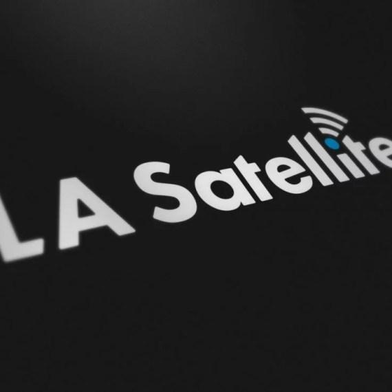 LA Satellite - Logo Design - Lethbridge Alberta