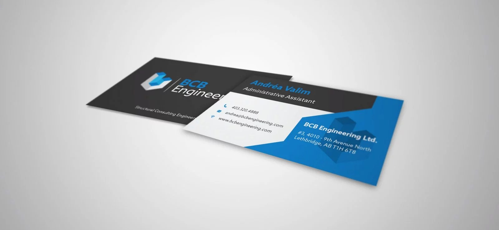 BCB Engineering - Business Card Design