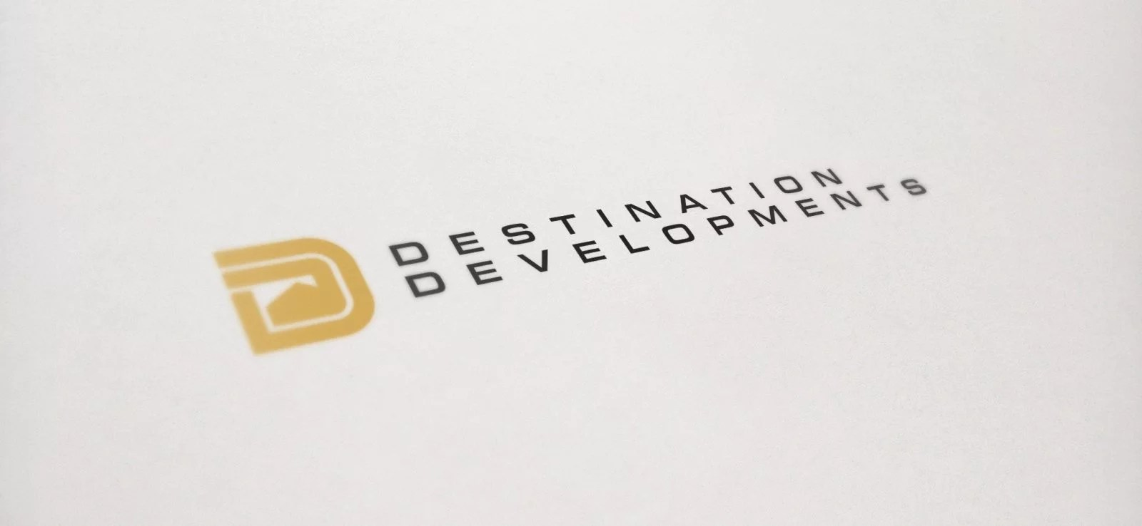 Destination Developments - Logo Design