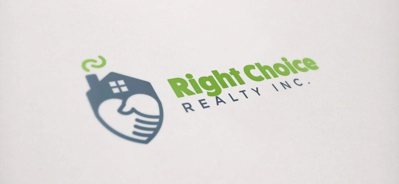 Right Choice Realty - Logo Design - Lethbridge, AB