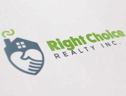 Right Choice Realty - Logo Design - Lethbridge, AB