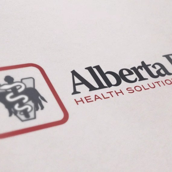 Logo Design Mockup for Alberta Beef Health Solutions