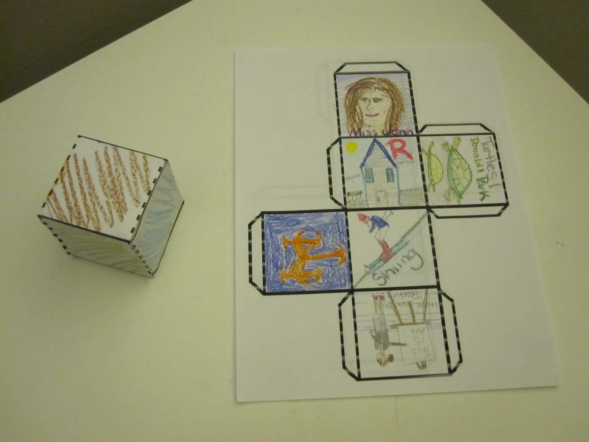hight resolution of All About Me 3-D Cube   A Montessori Elementary blog