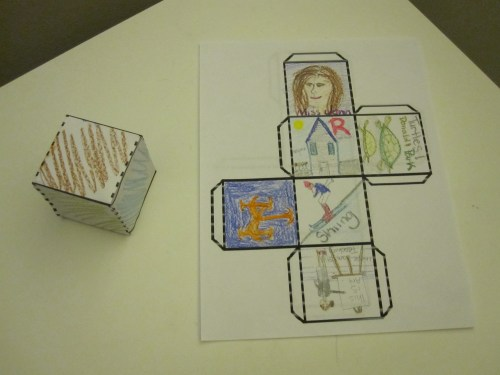 small resolution of All About Me 3-D Cube   A Montessori Elementary blog