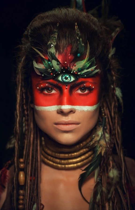 African Tribal Face Paint : african, tribal, paint, Tribal, Paint, Ideas