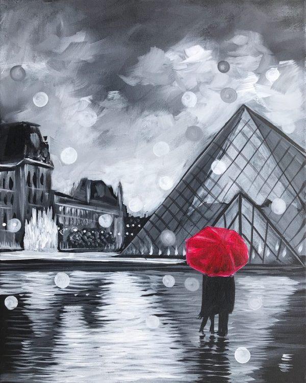 Love Louvre Stevens Art Rave